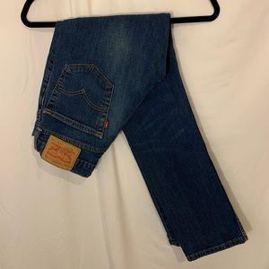 Levis 511 Mens Jeans Dark/Medium Wash 30x30